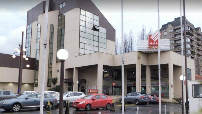 Mall Mirage de Temuco, lugar en donde habría sucedido el accidente.